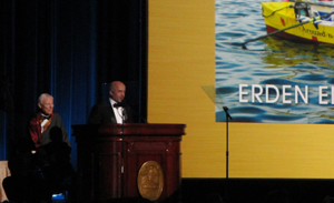 Image: Acceptance speech for the 2013 Citation of Merit.