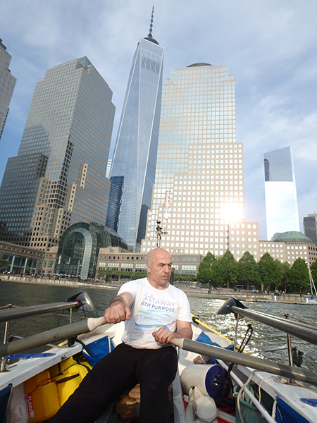Image: North Cove Marina is practically under the Freedom Tower.