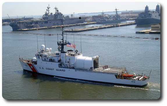 Image: The United States Coast Guard vessel Legare