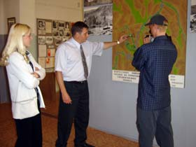 Image: A visit to the museum of Seimchan