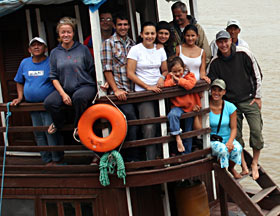 Image: Left to right: Alberto, Tina, Luis, Nathan, Marcella, Diana, Syd, Phil, Lelia, Tatiana, Tom, Jose.