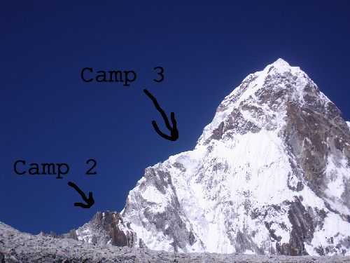 Image: Close-up From Camp 2 To Top