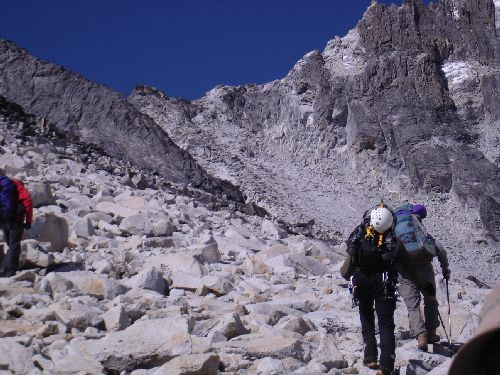 Image: Rocky Route Between ABC & Camp 1