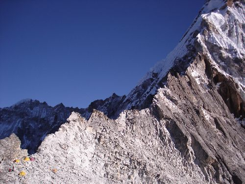 Image: Route From Upper Camp 1 to Camp 3
